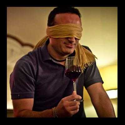 cata de vino a ciegas